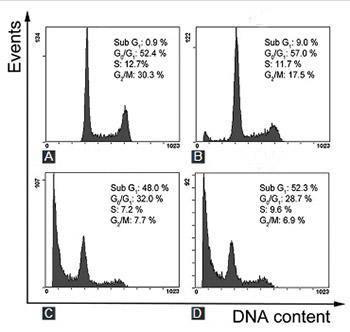 Salvia miltiorrhiza extract dihydrotanshinone induces apoptosis and inhibits proliferation of glioma cells