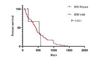 Long noncoding RNA MALAT1 may be a prognostic biomarker in IDH1/2 wild-type primary glioblastomas