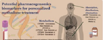Pharmacogenomics biomarkers for personalized methadone maintenance treatment: The mechanism and its potential use